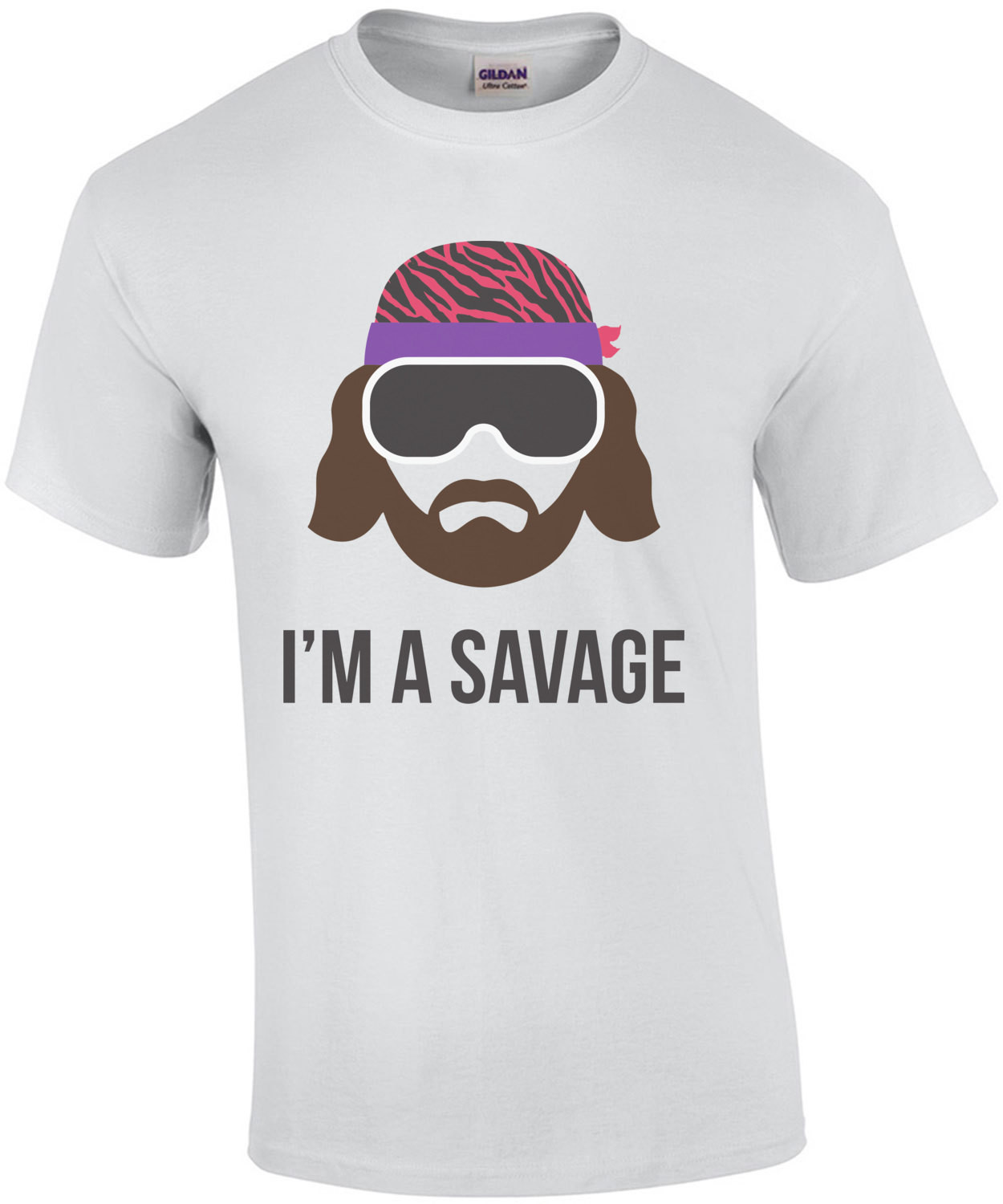 I'm a Savage Macho Man Randy Savage T-Shirt