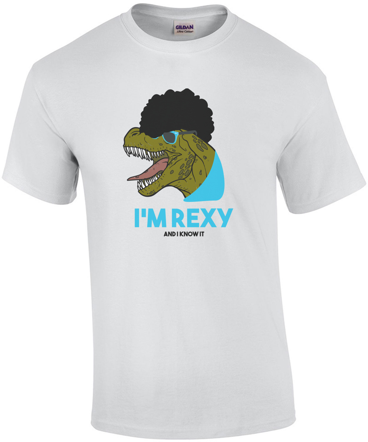 I'm rexy and I know it - T-Rex T-Shirt