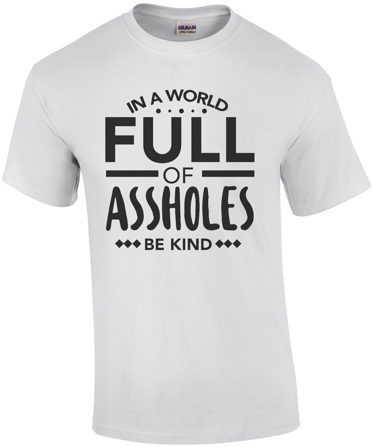 In a world full of assholes - be kind - funny t-shirt