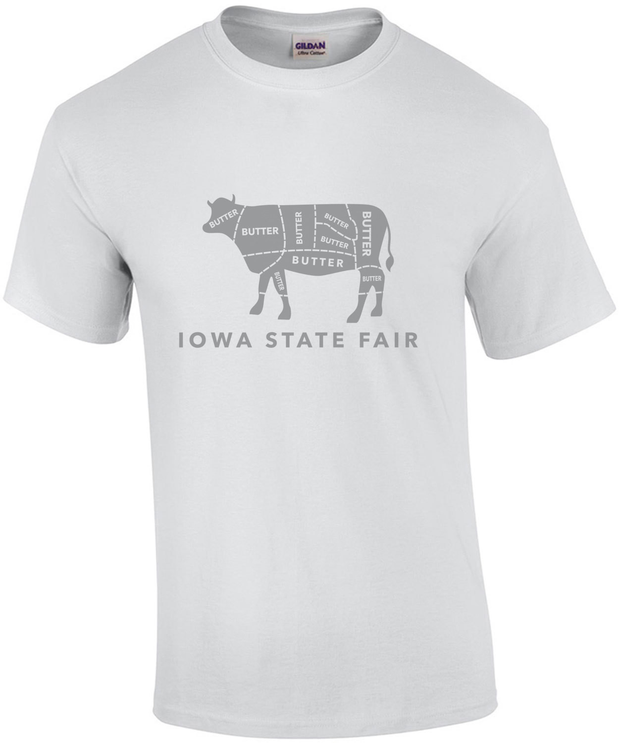 Iowa State Fair - Butter Cow - Iowa T-Shirt