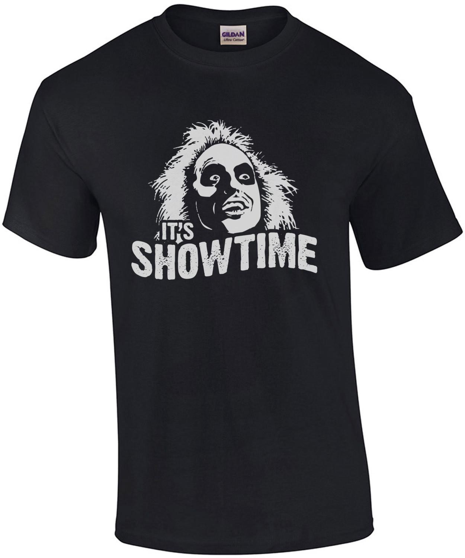 It's Showtime - Beetlejuice T-Shirt - 80's T-Shirt