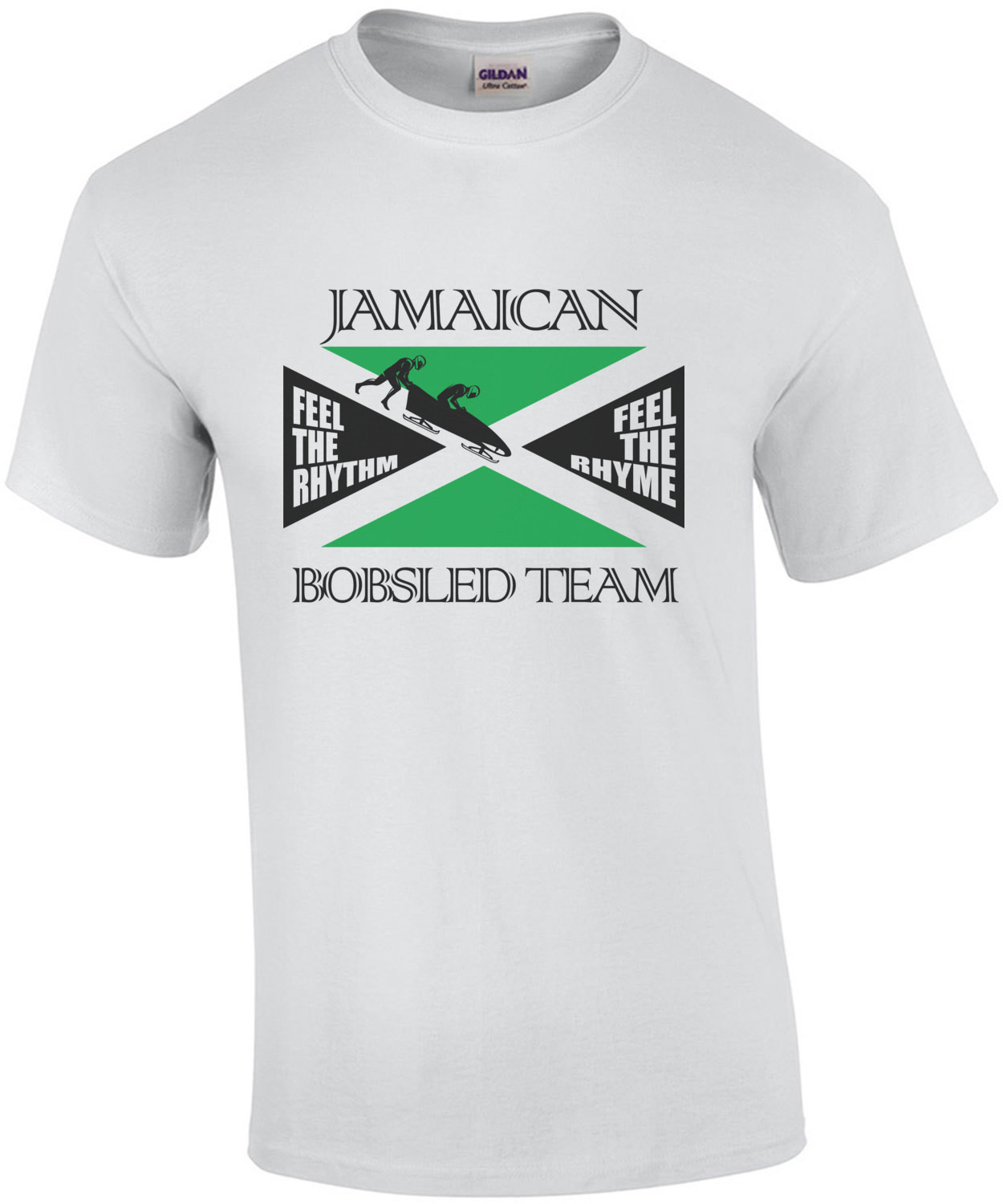 Jamaican Bobsled Team - Cool Runnings T-Shirt - 90's tshirt