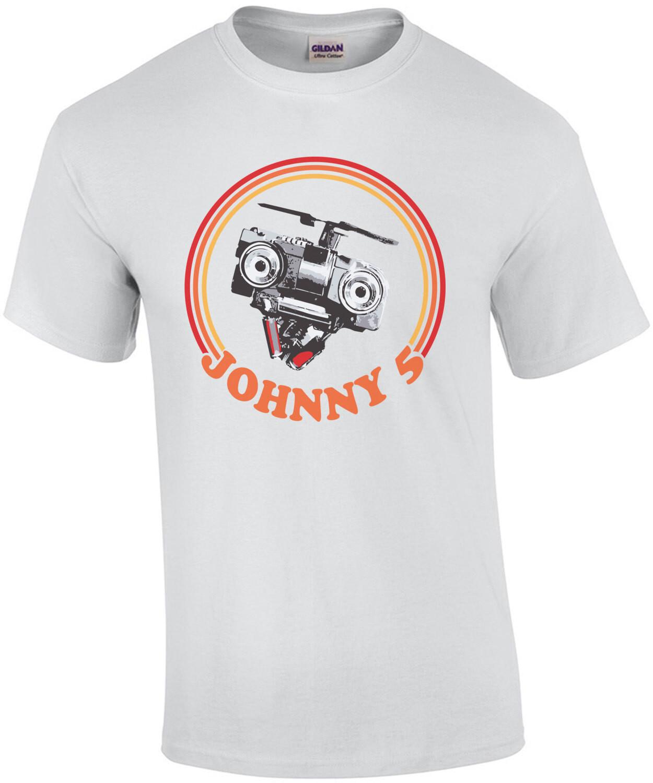 Johnny 5 - Short Circuit - 80's T-Shirt
