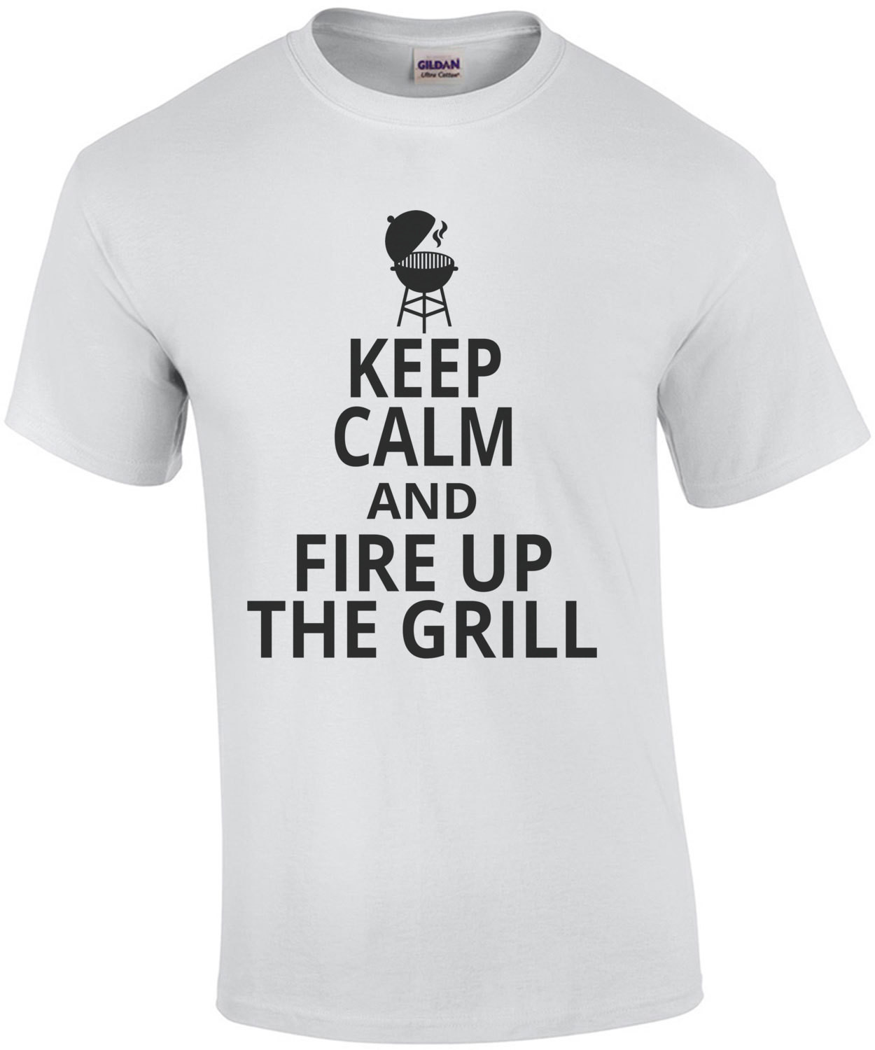 Keep Calm And Fire Up The Grill T-Shirt