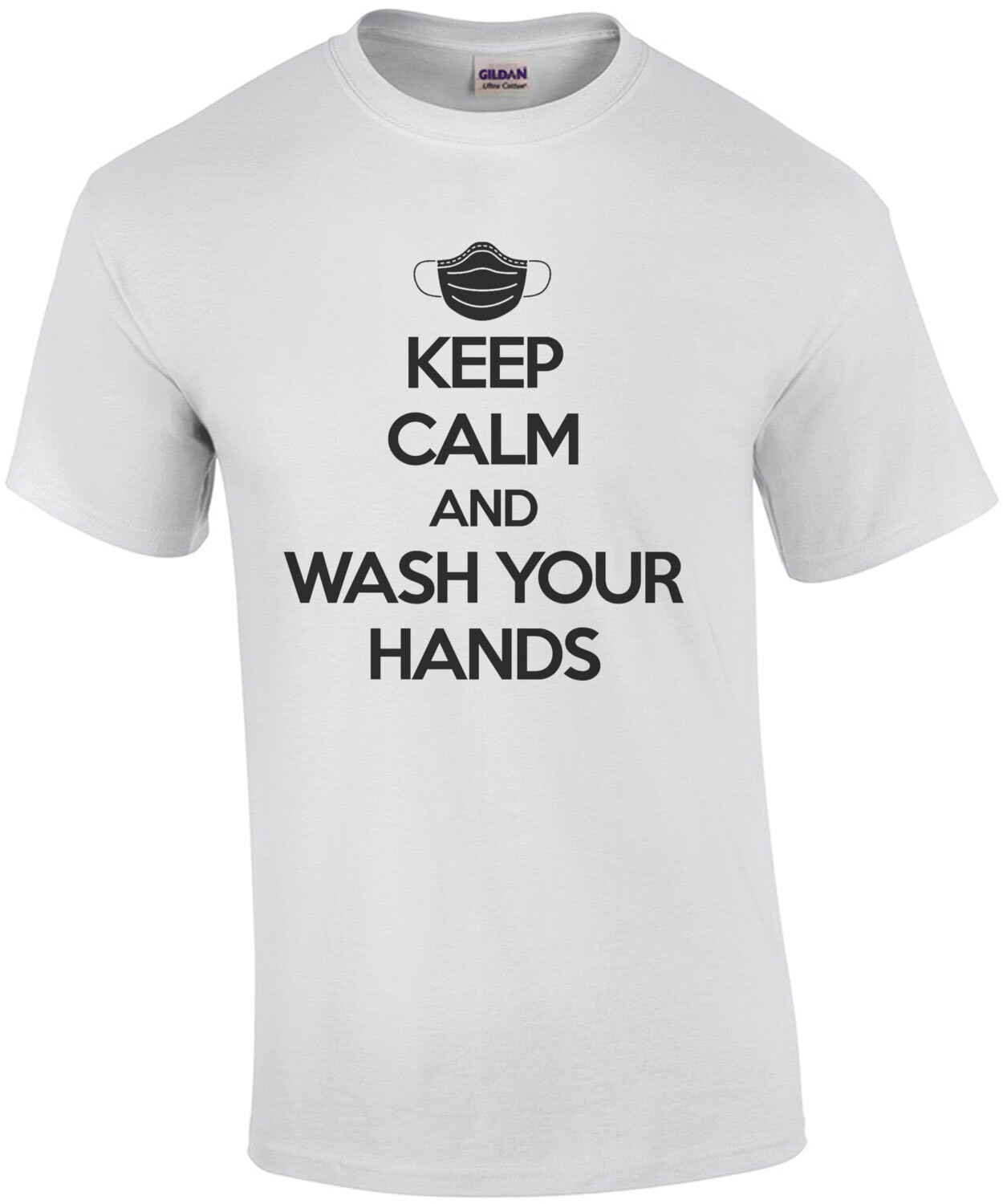Keep Calm and wash your hands - Coronavirus T-Shirt