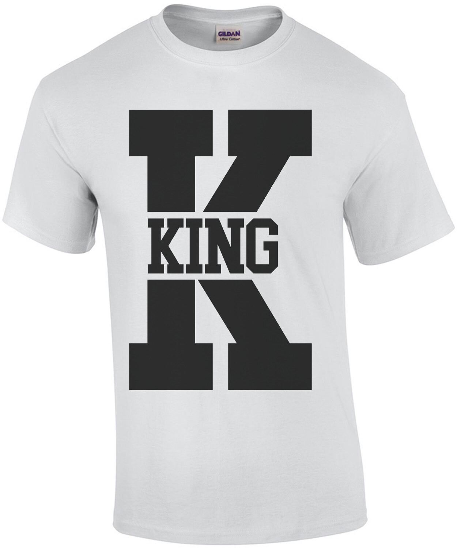King - Couple's T-Shirt