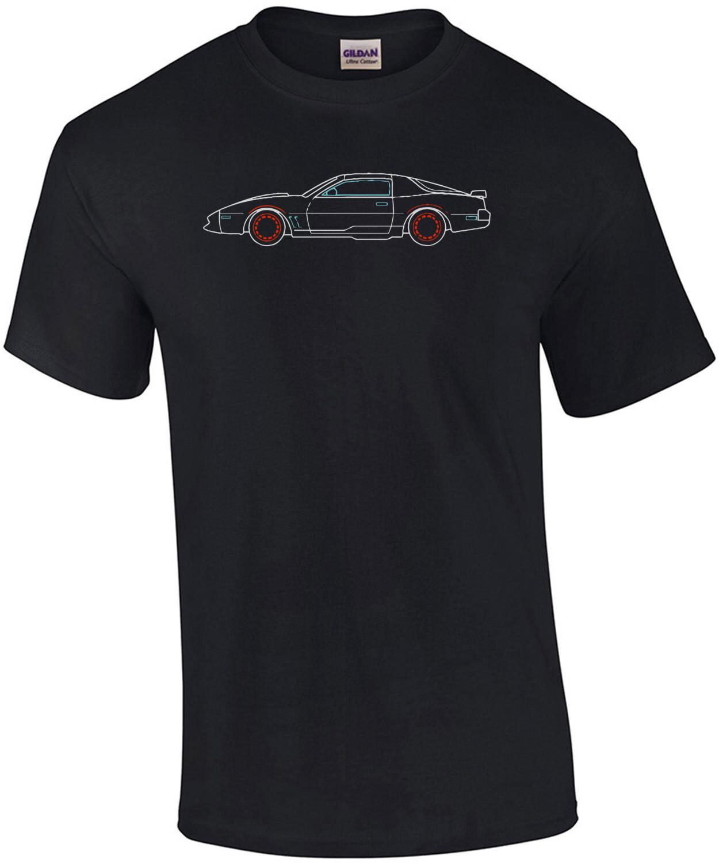 Knight Rider - KITT 80's T-Shirt