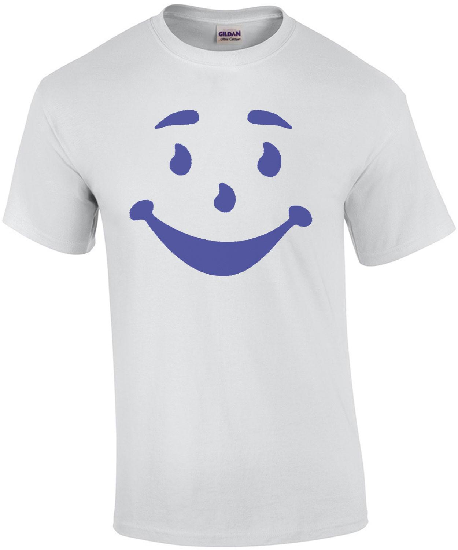 Kool Aid Man Face Shirt Shirt