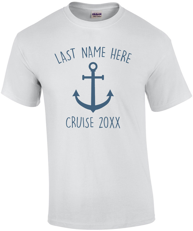 Last Name - Custom Cruising T-Shirt