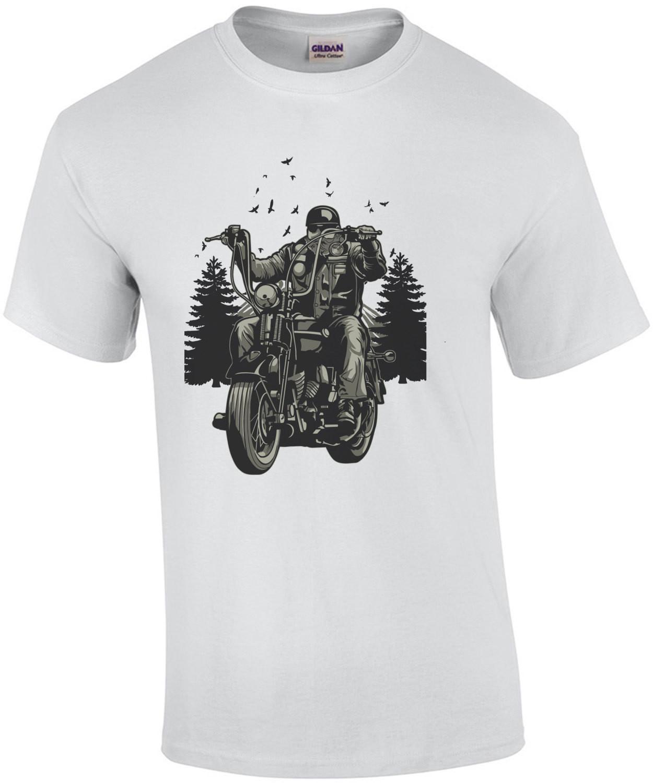 Live To Ride Biker Shirt T-Shirt
