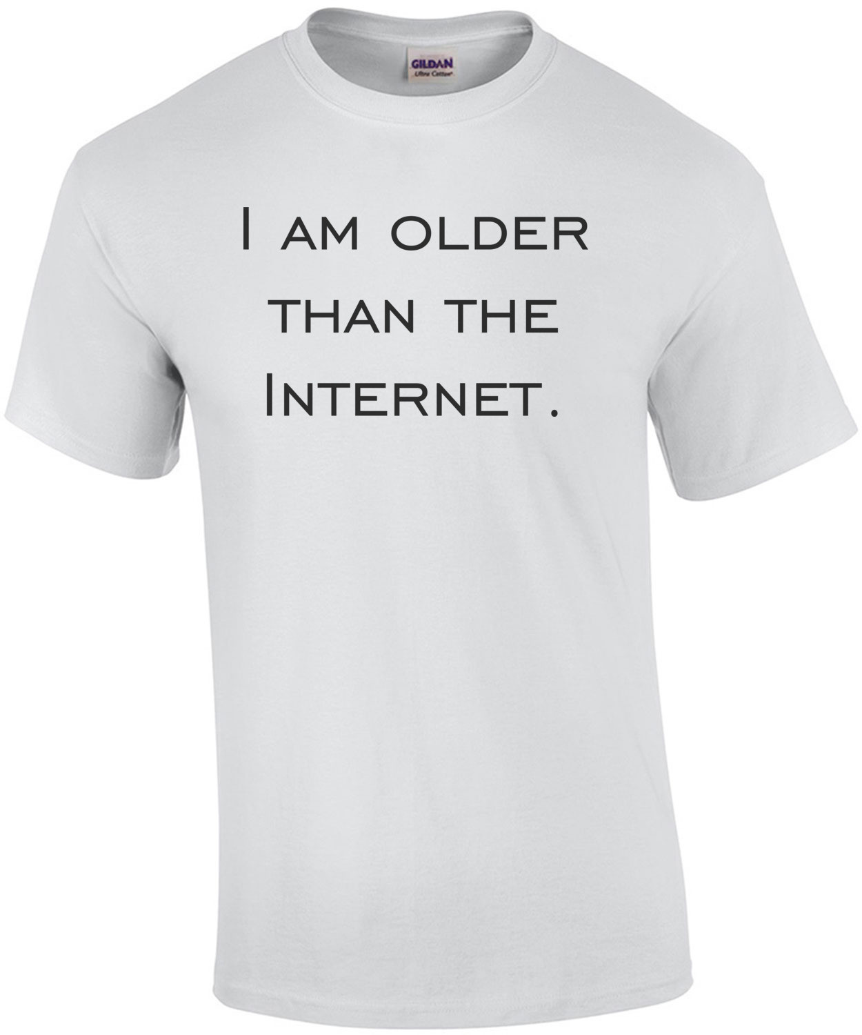 I am older than the Internet. Happy Birthday T-Shirt