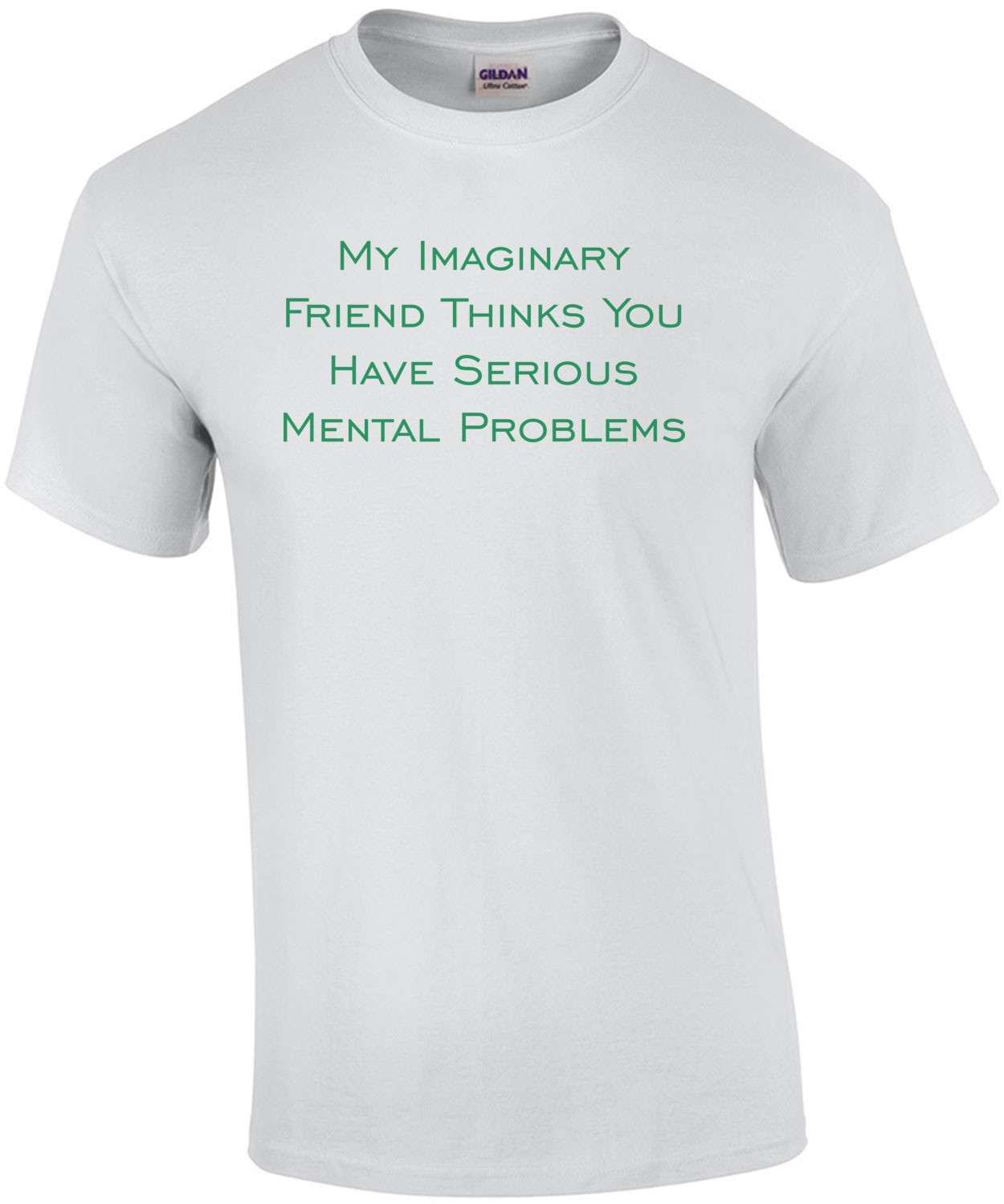 My Imaginary Friend Thinks You Have Serious Mental Problems T-Shirt