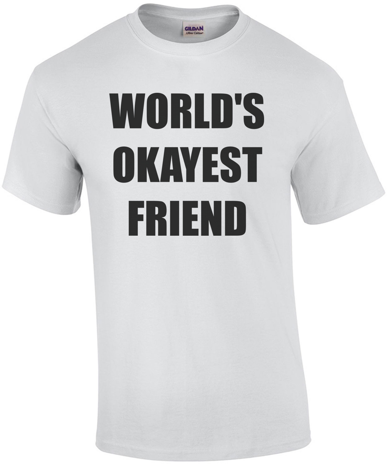 WORLD'S OKAYEST FRIEND Shirt
