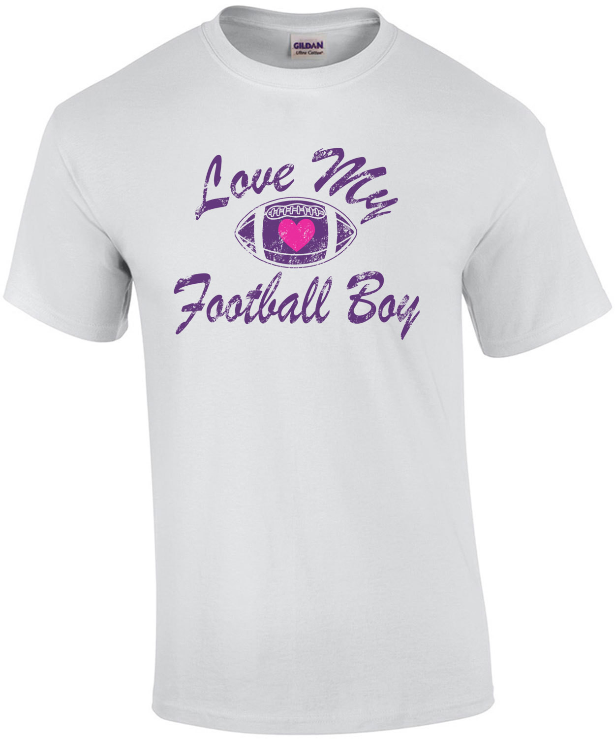 Love My Football Boy Mom T-Shirt