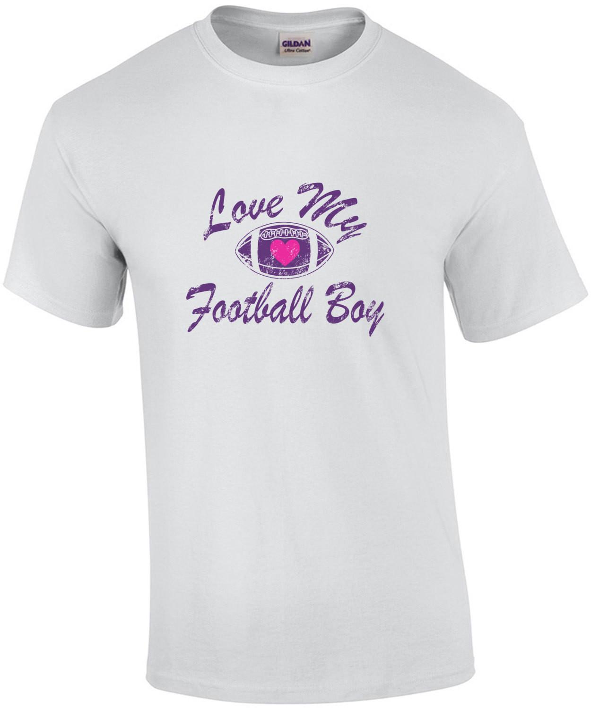 Love My Football Boy T-Shirt