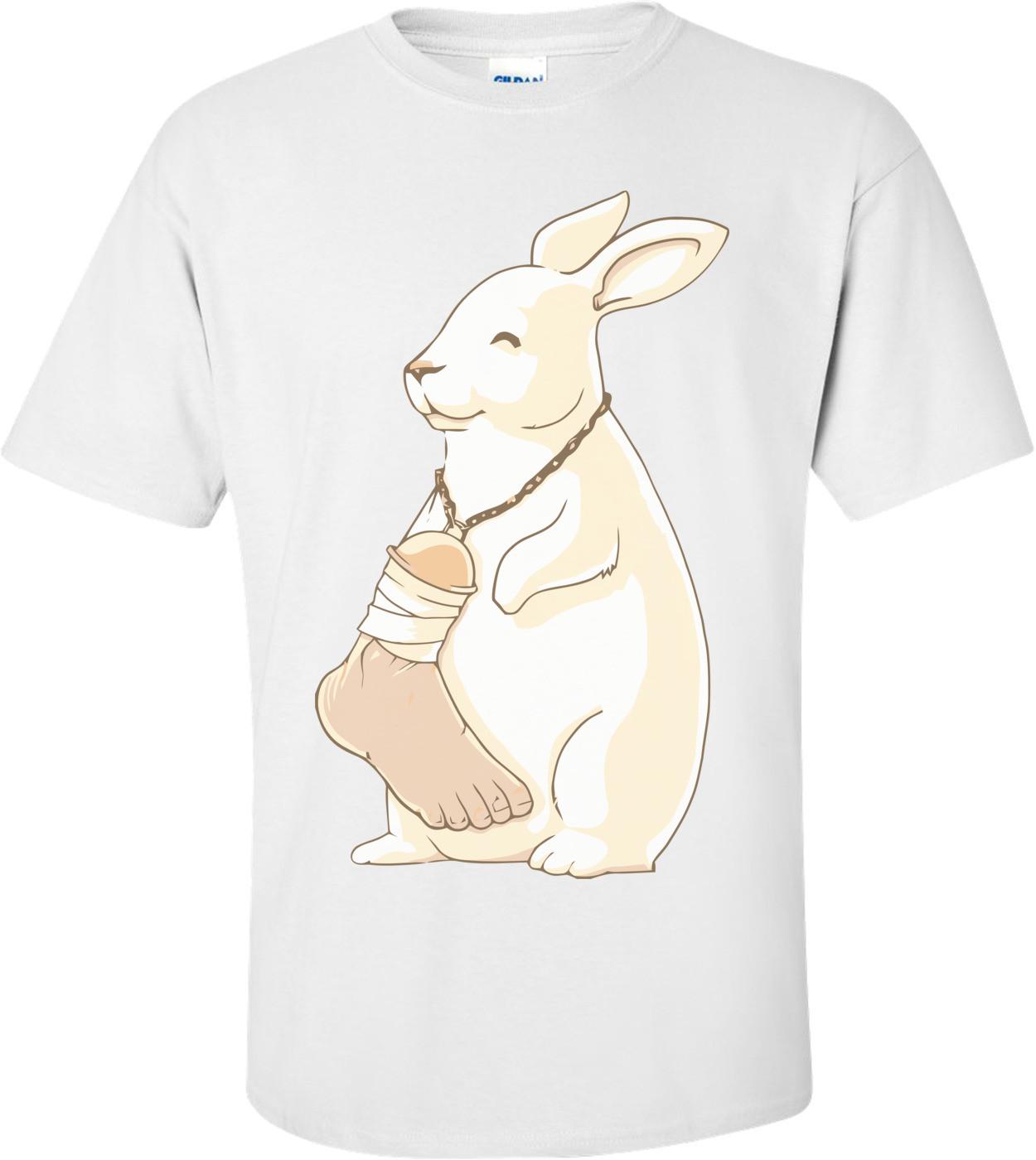 Lucky Human Foot Cool T-shirt