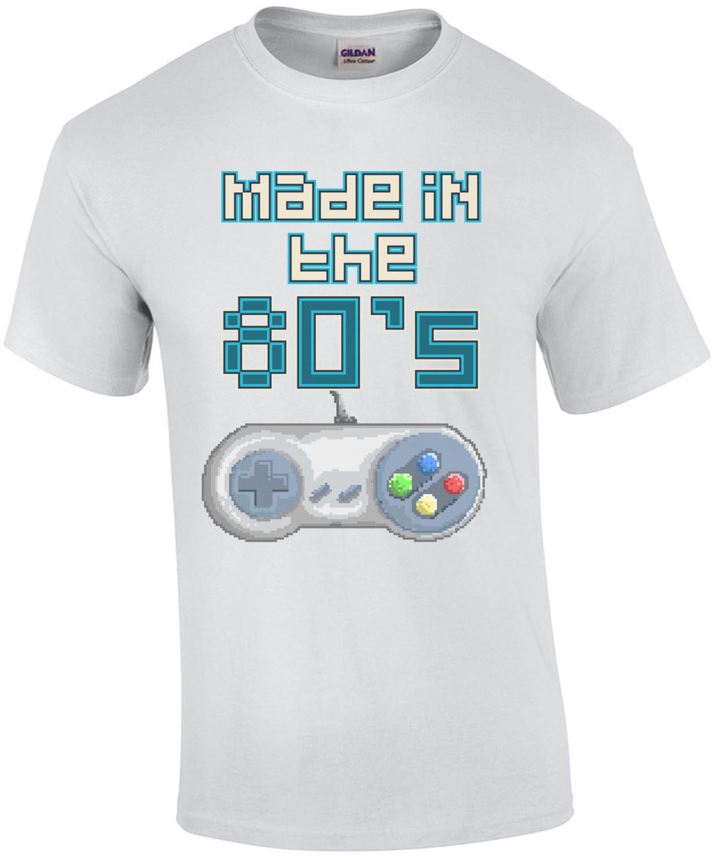 Made In The 80s Retro Super Nintendo T-Shirt