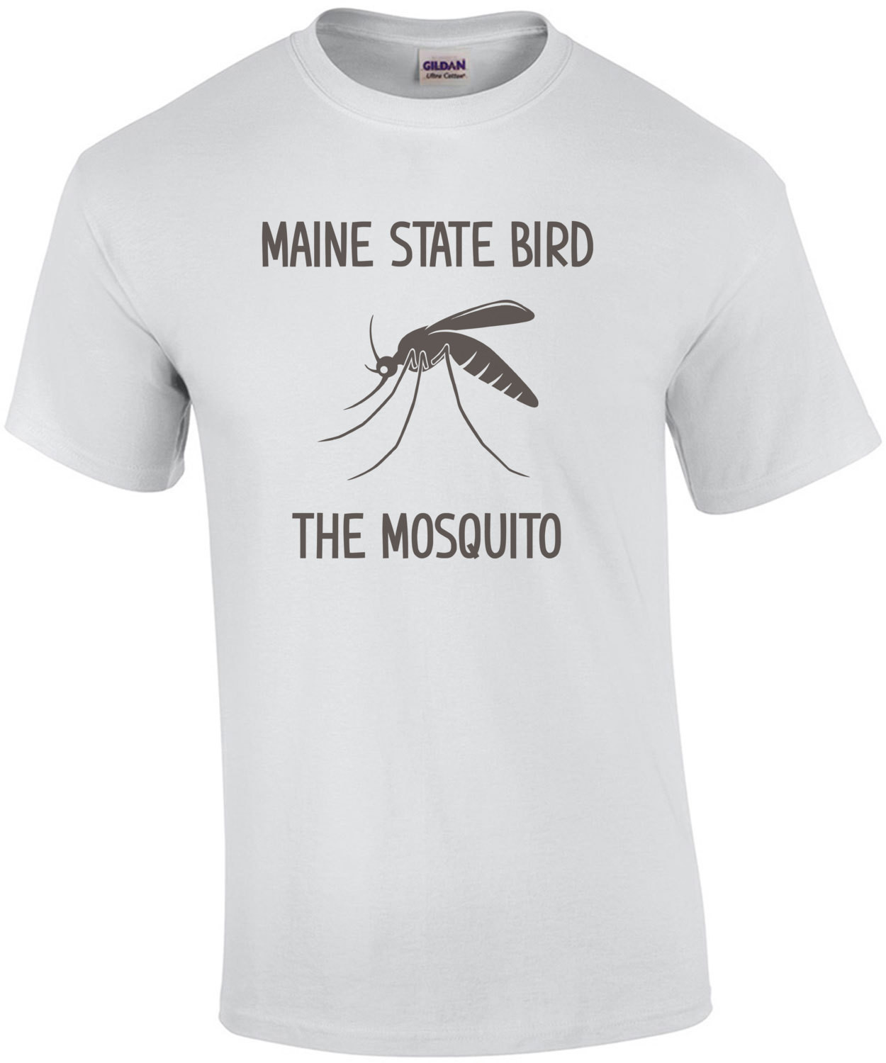 Maine State Bird The Mosquito - Funny Maine T-Shirt