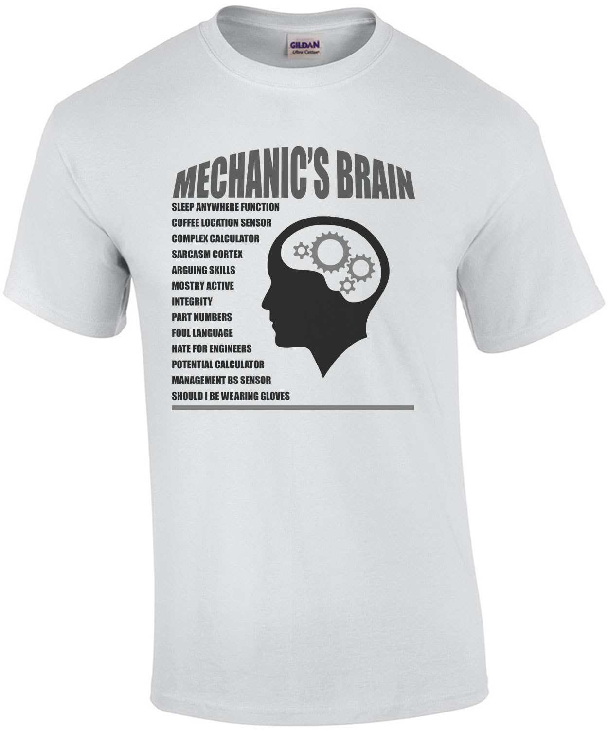 Mechanic's Brain T-Shirt