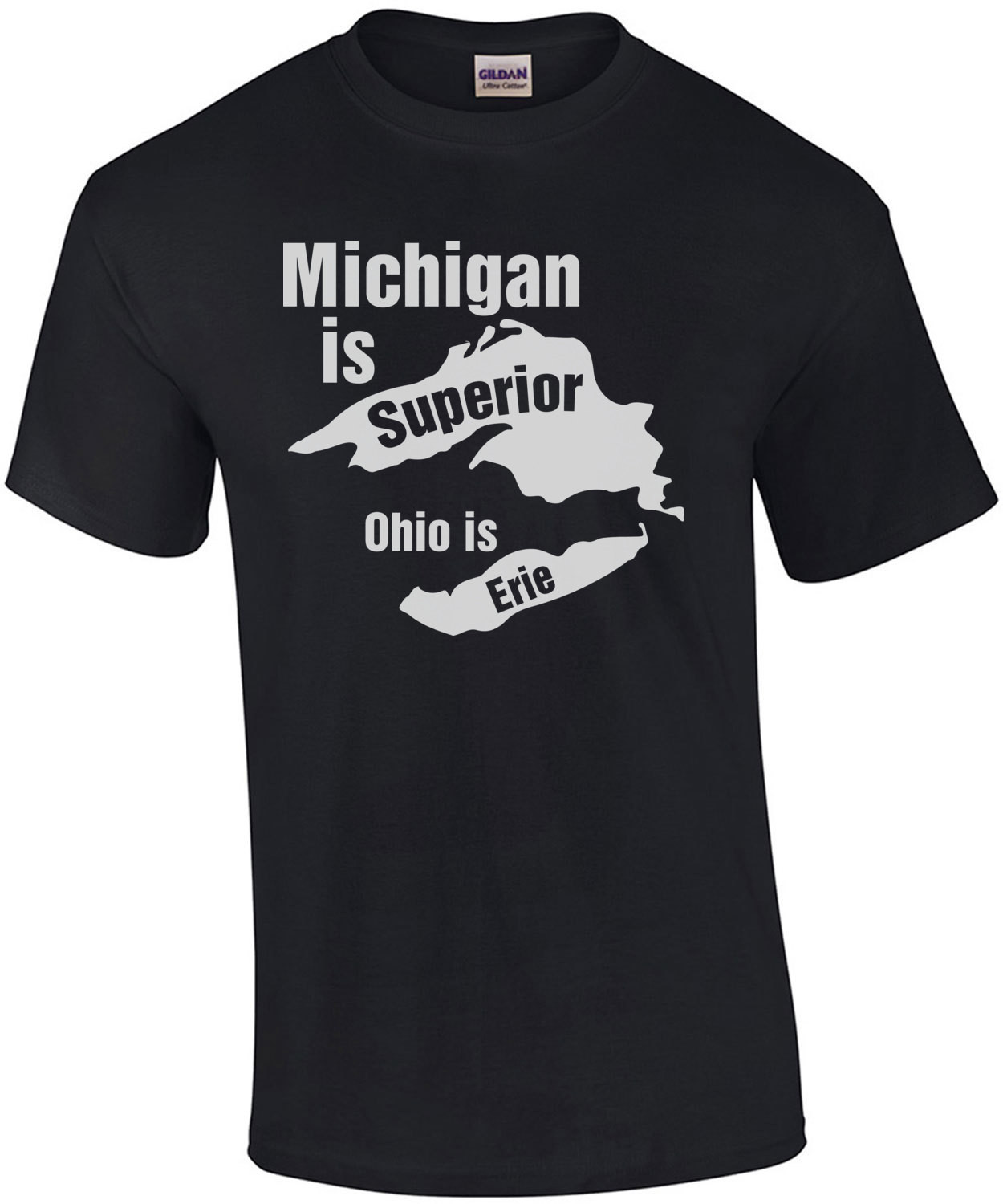 Michigan is superior Ohio is Erie - Michigan T-Shirt