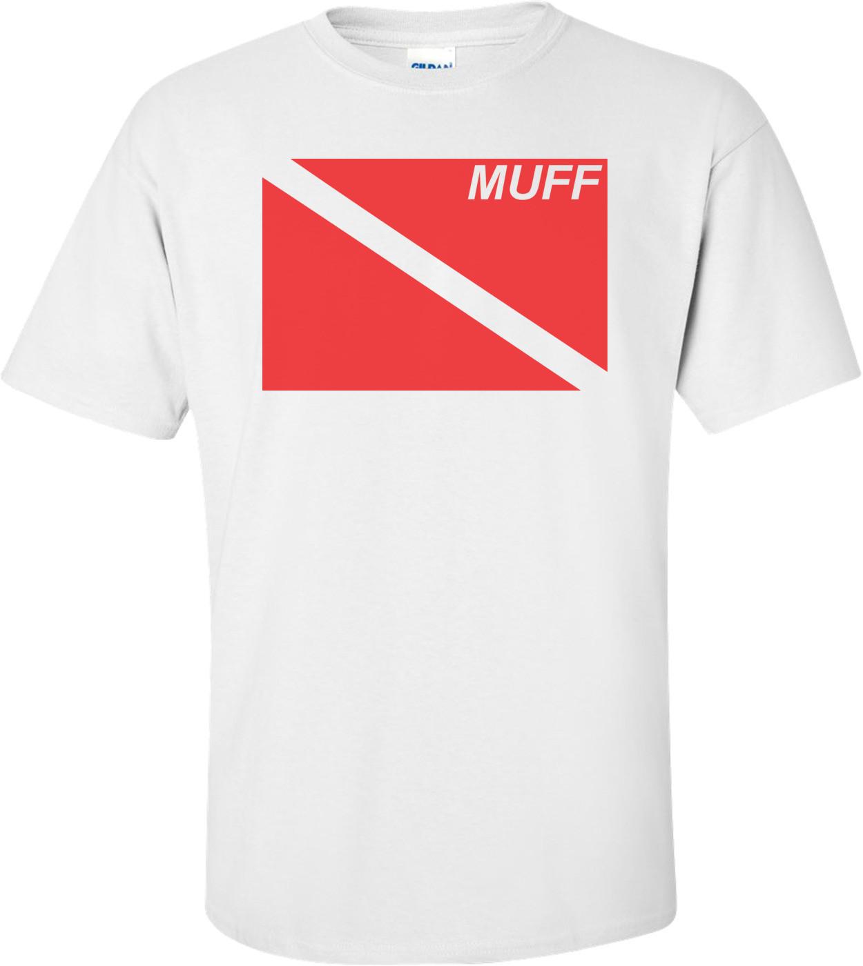 Muff Dive Flag T-shirt