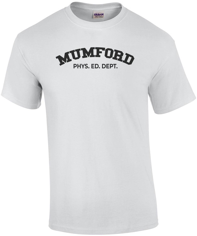 Mumford Phys. Ed. Dept. - Beverly Hills Cop - 80's T-Shirt