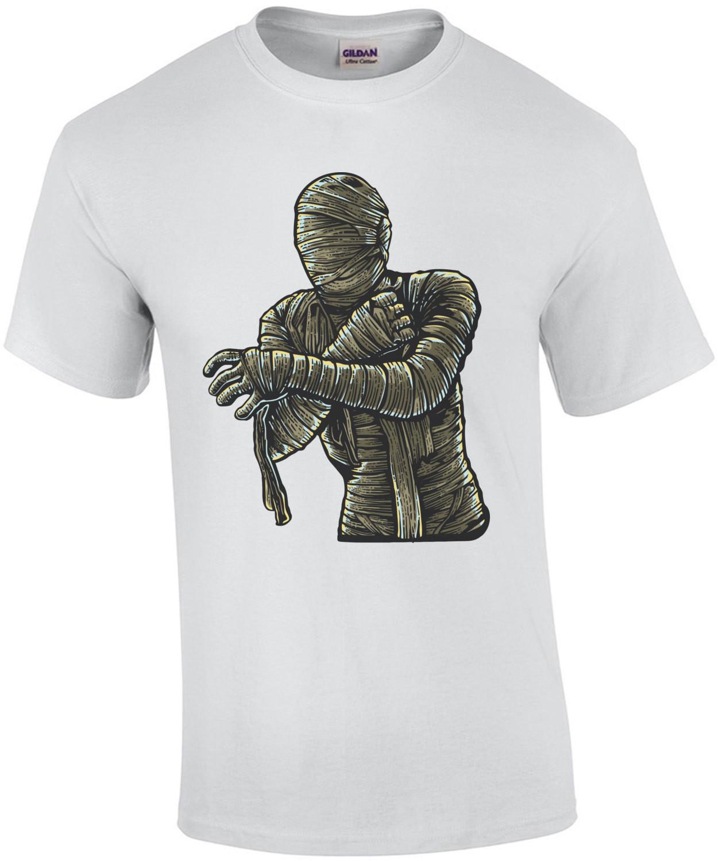 Mummy Retro Horror T-Shirt
