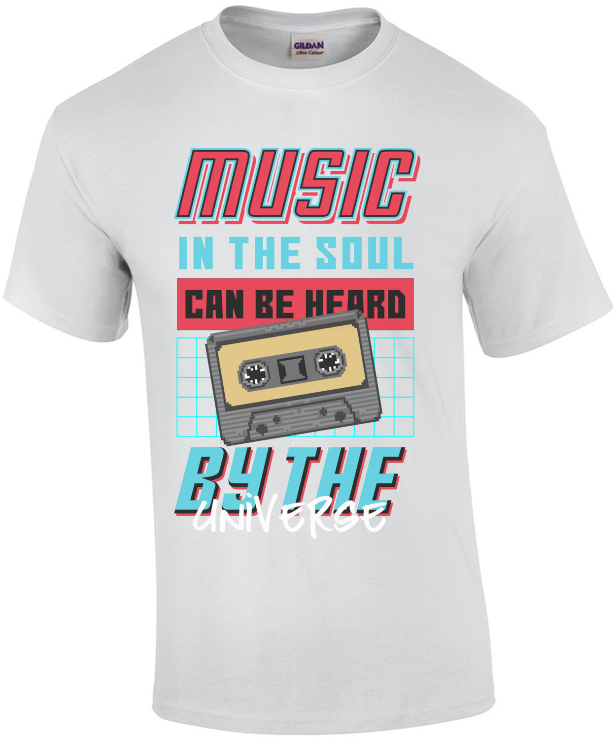 Music In The Soul Can Be Heard By The Universe T-Shirt