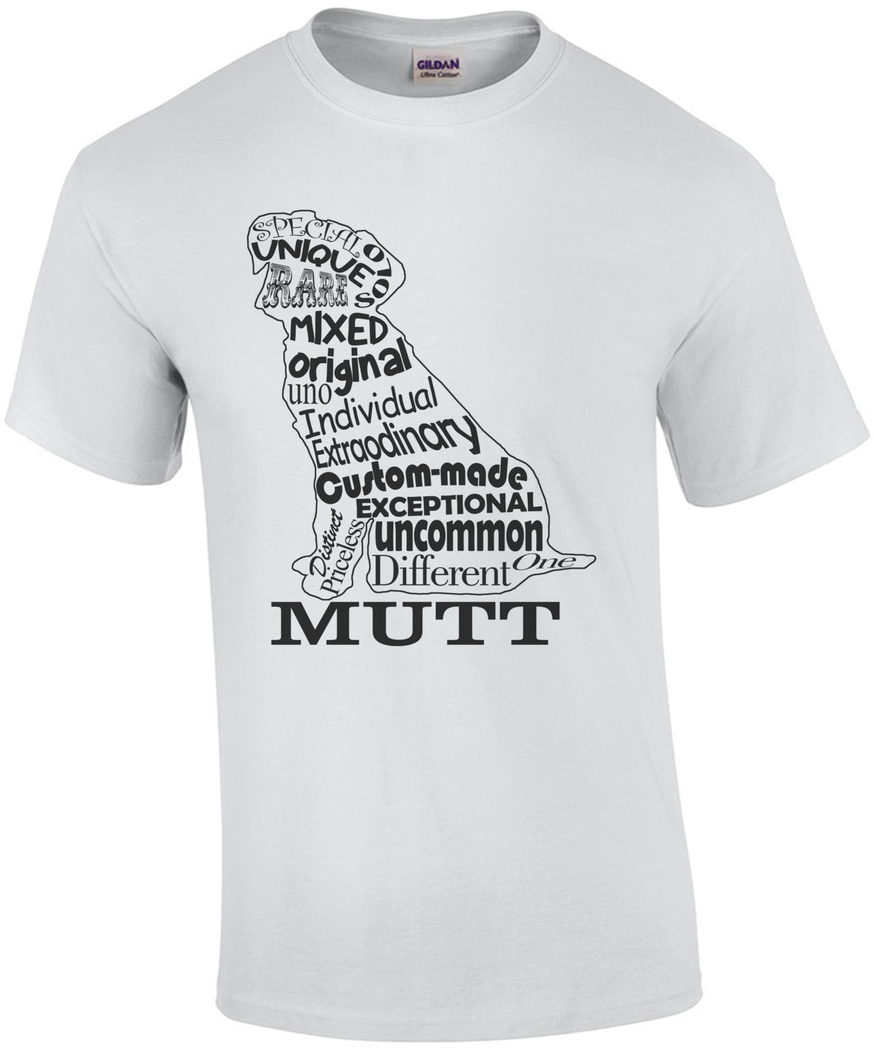 Mutt Exceptional Mixed Original Individual T-Shirt