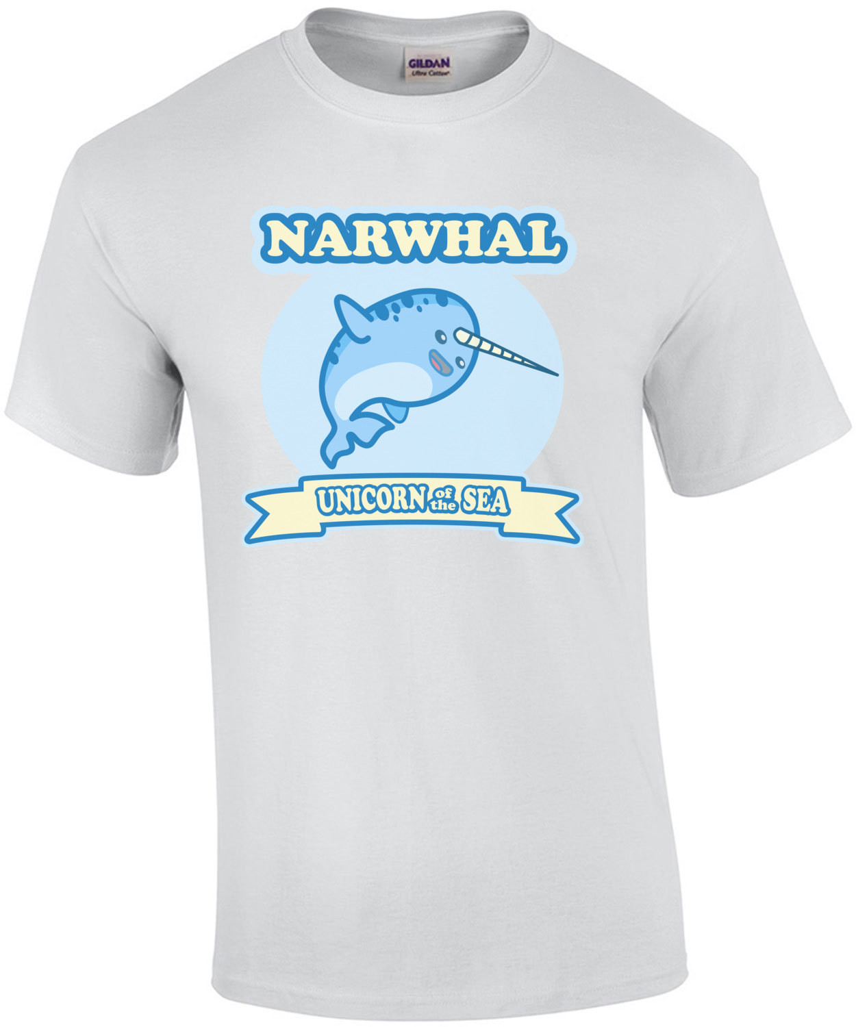 Narwhal Unicorn Of The Sea 2 - Funny T-Shirt