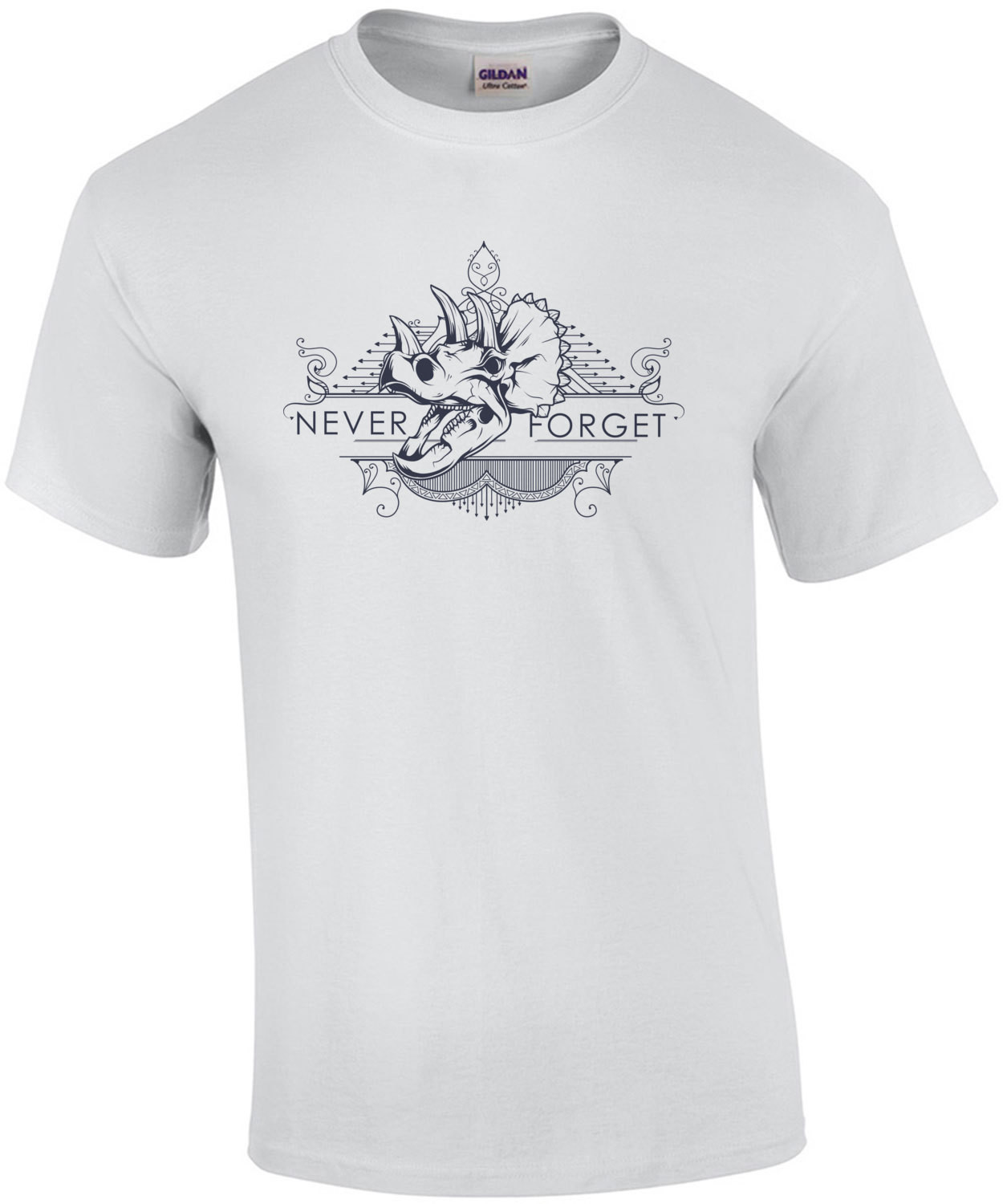 Never Forget Triceratops Dinosaur T-Shirt
