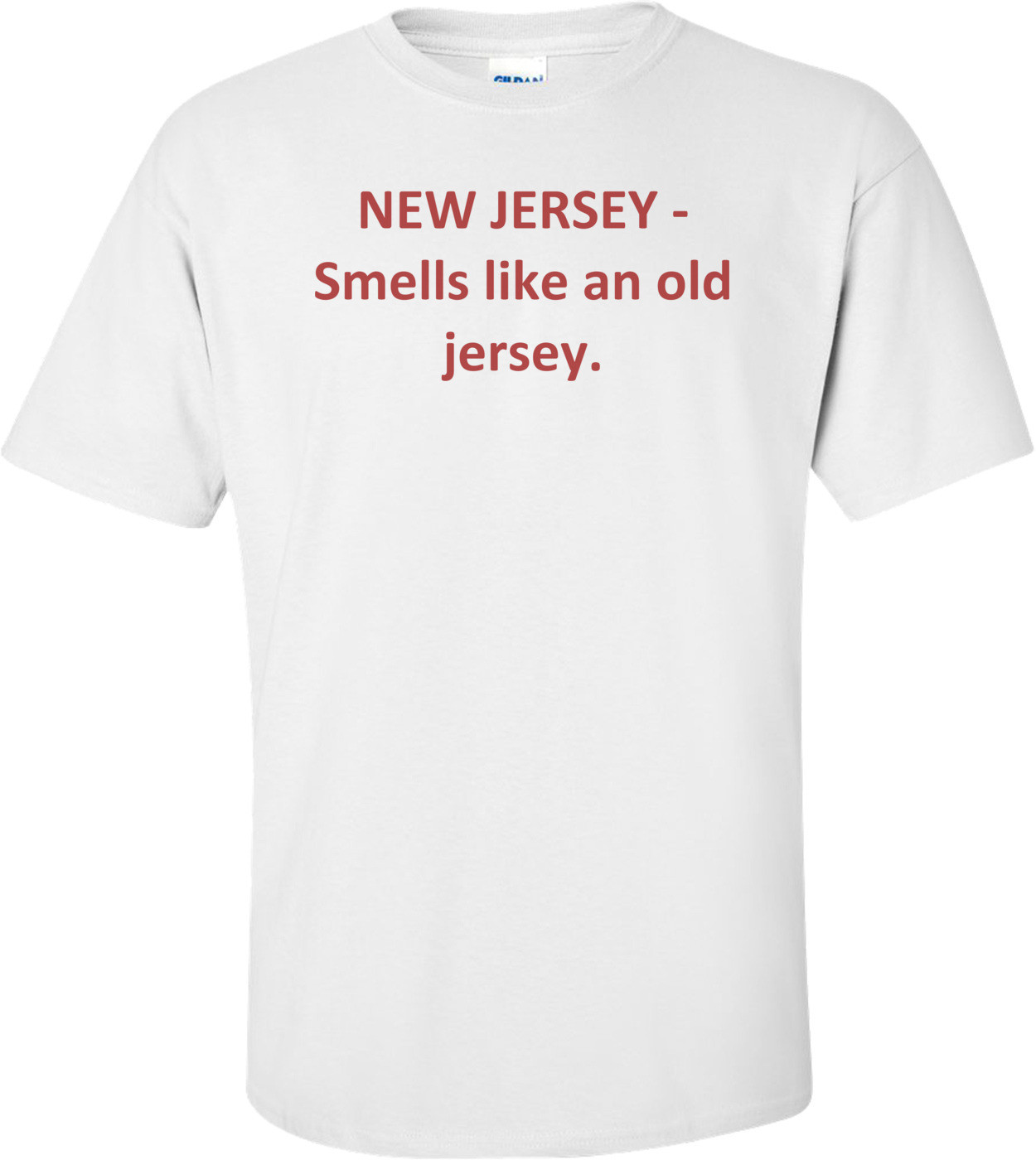 NEW JERSEY - Smells like an old jersey. Shirt