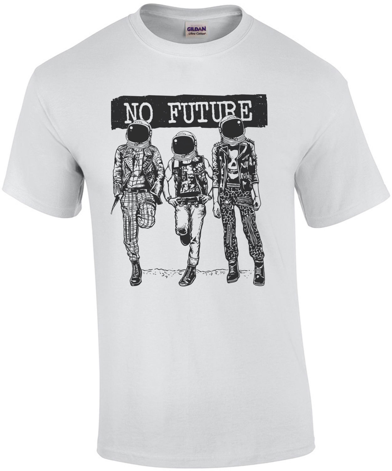 No Future Anarchy T-Shirt