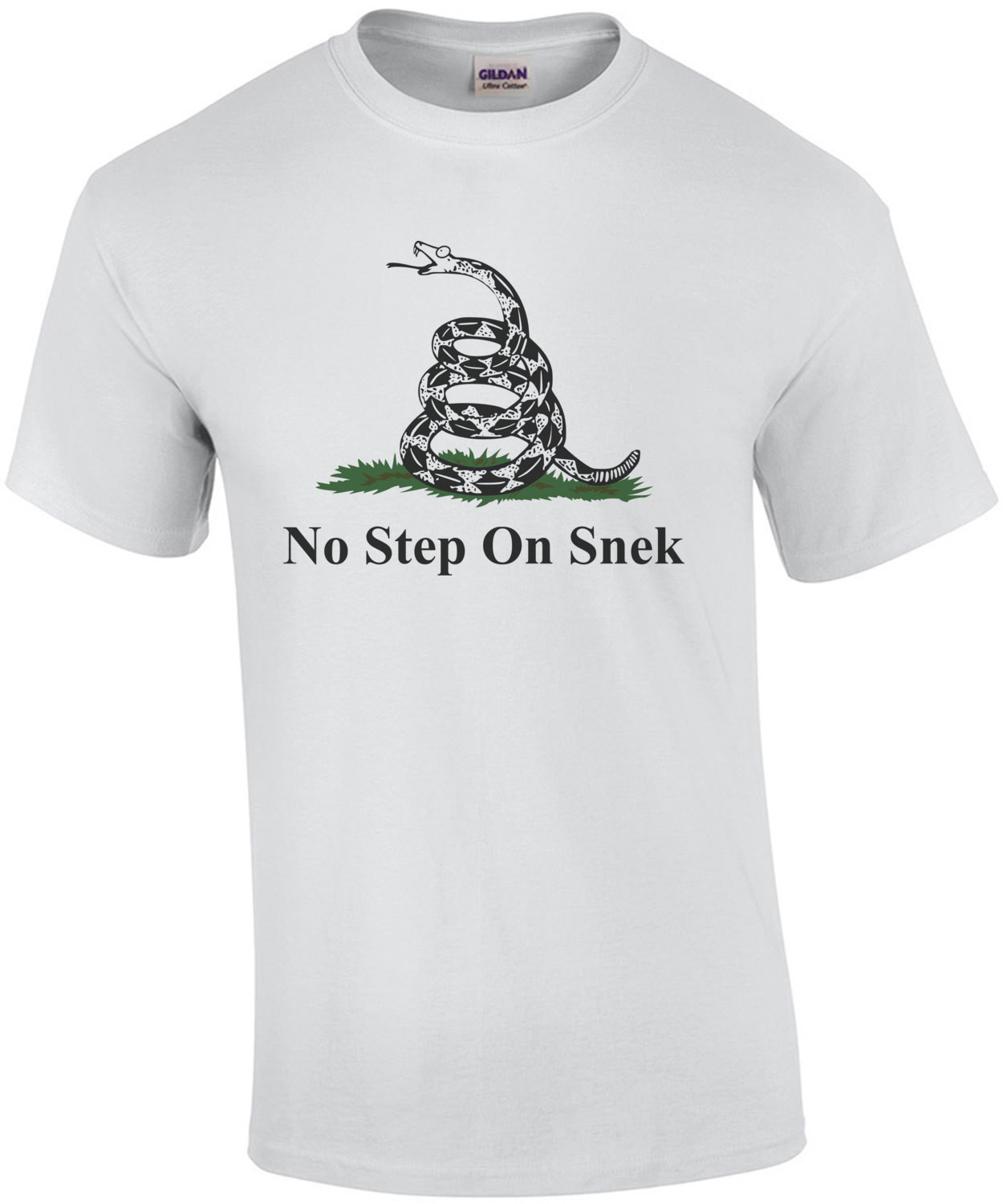 No Step on Snek Funny Shirt