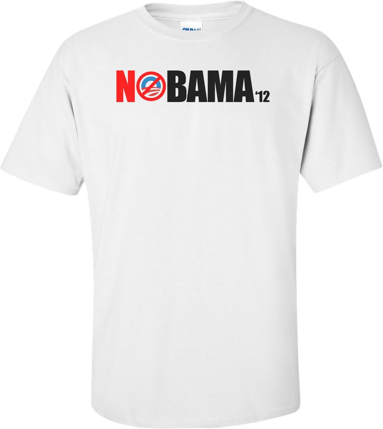 Nobama 2012 - Anti-obama Shirt