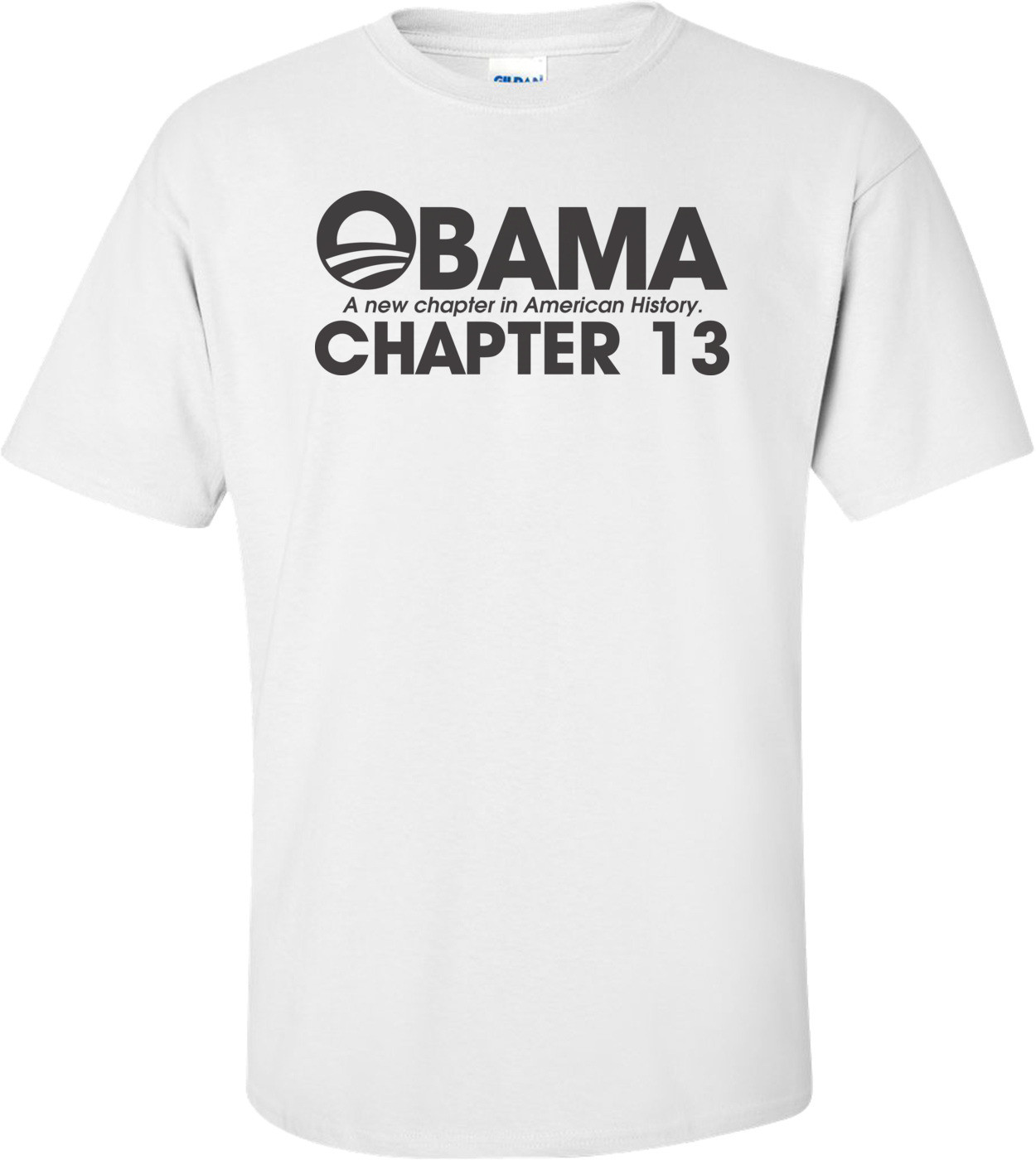 Obama A New Chapter In American History Chapter 13 Anti Obama T-shirt