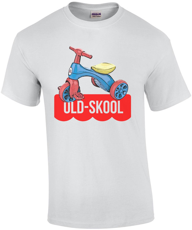Old-Skool big wheel tricycle - Parody T-Shirt