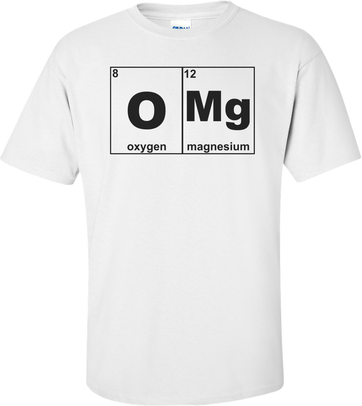 Omg Periodic Table Funny Shirt