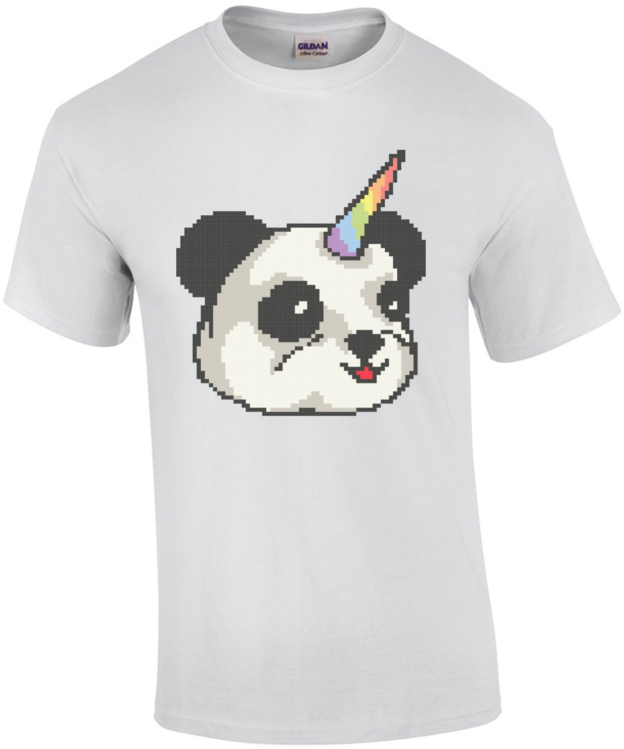 Panda Unicorn Cute Retro T-Shirt