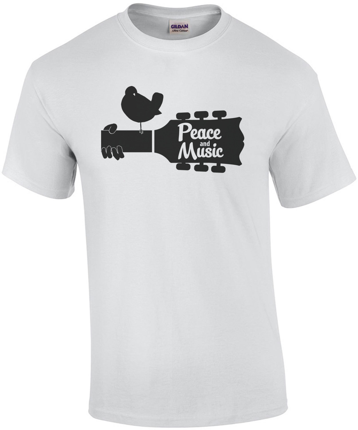 Peace and Music Woodstock T-Shirt
