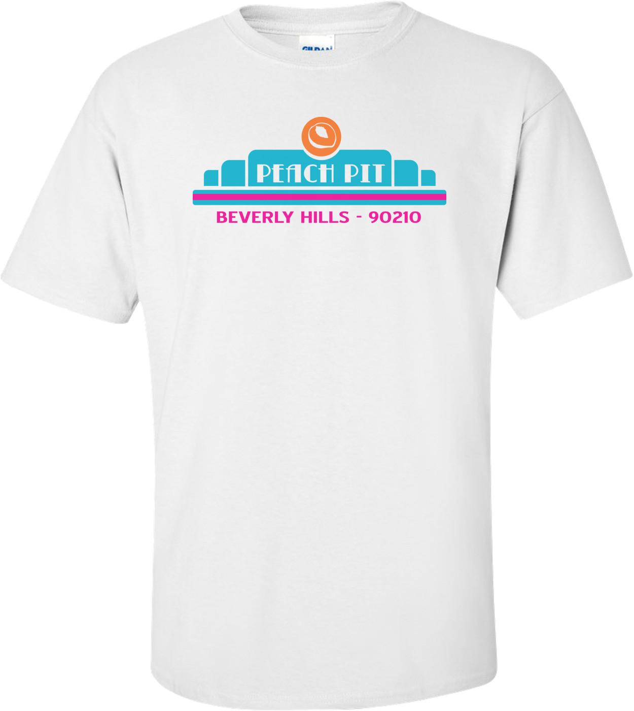 Peach Pit 90210 T-shirt