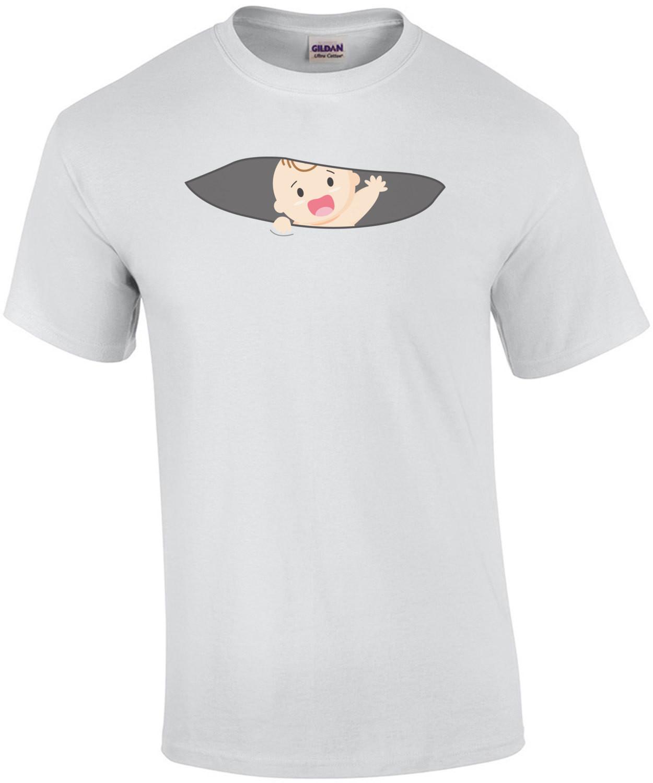 Peeking Baby - Maternity Shirt