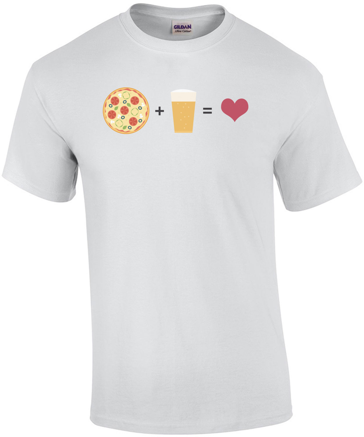 Pizza + Beer = Love T-Shirt