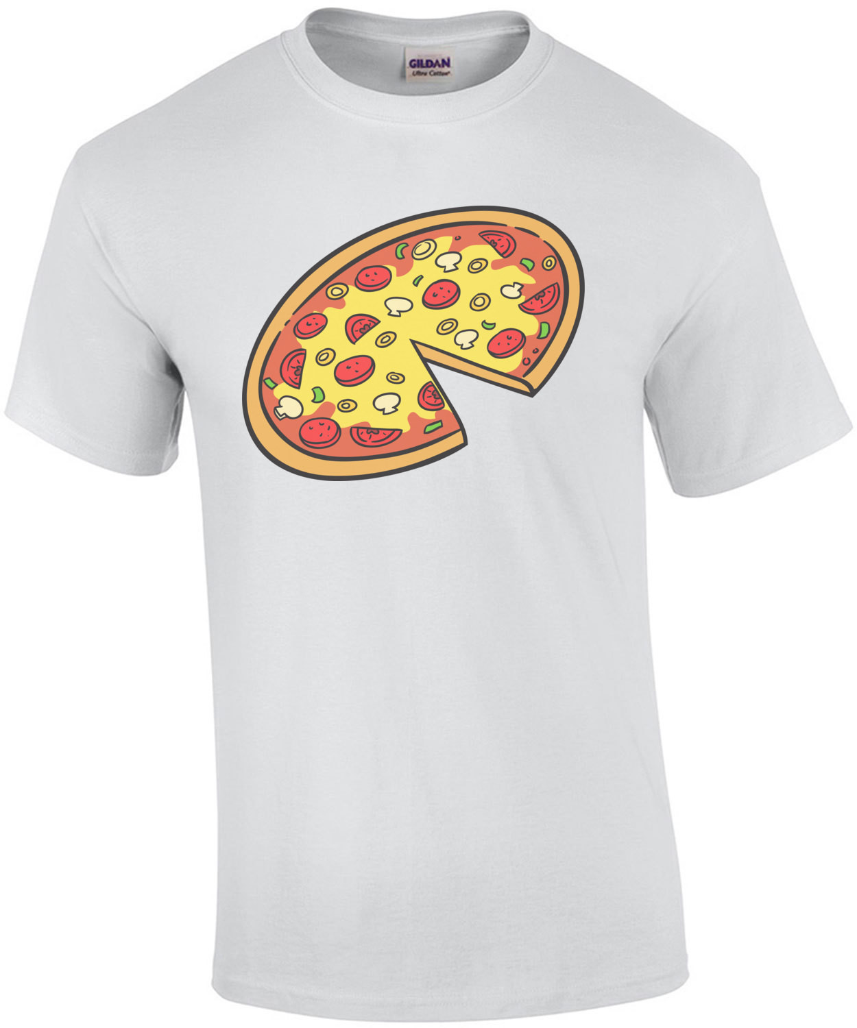 Pizza - Parent + Child Funny T-Shirt
