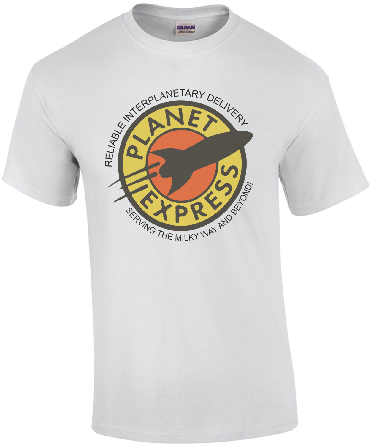 Planet Express - Reliable Interplanetory Delivery Serving The Milky Way And Beyond! Futurama T-Shirt