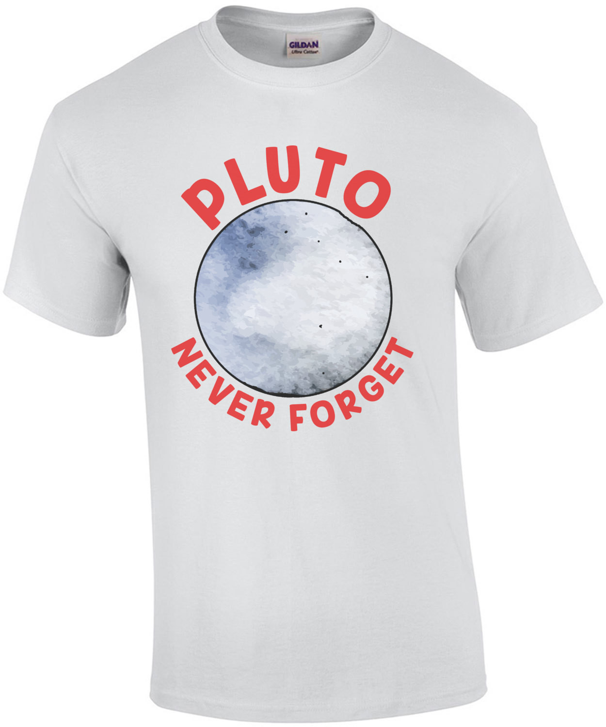 Pluto Never Forget T-Shirt