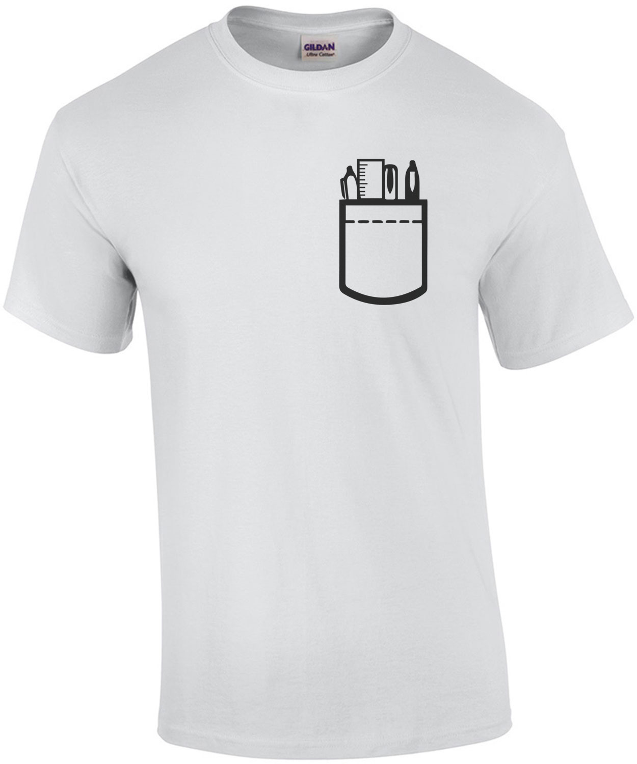 Pocket Protector Nerd T-Shirt