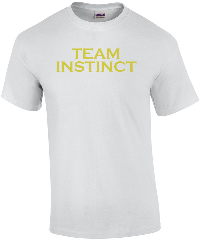 Pokemon Go Team Instinct (Text Only) Shirt
