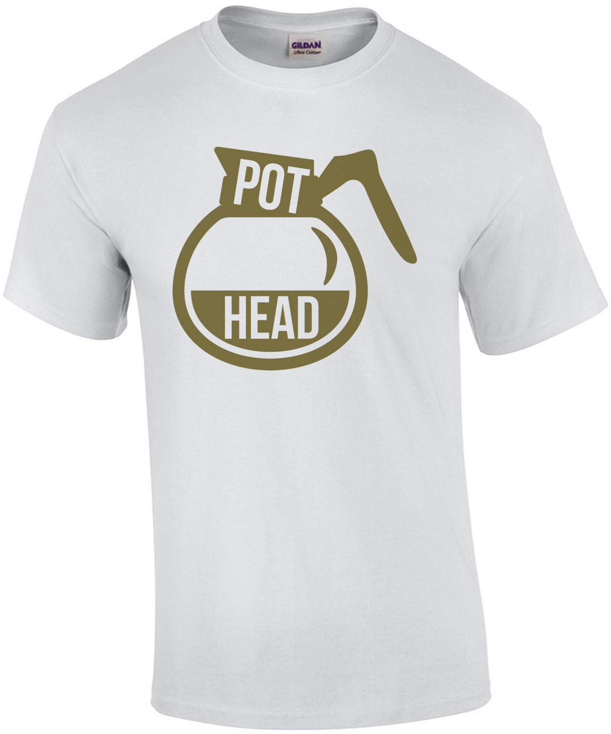 Pot Head Coffee Lover T-Shirt