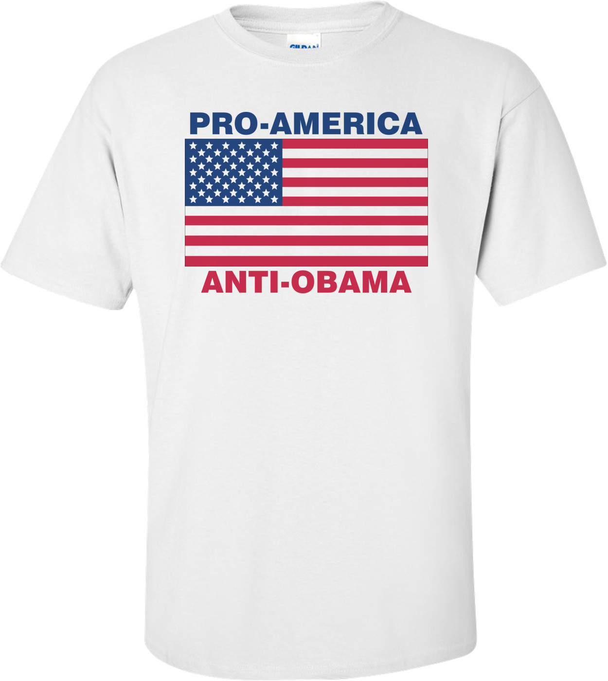 Pro America Anti Obama T-shirt